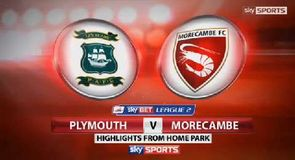 Plymouth 5-0 Morecambe