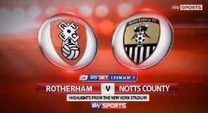 Rotherham 6-0 Notts County