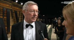Ferguson enjoys the Oscars