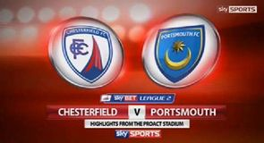 Chesterfield 0-0 Portsmouth