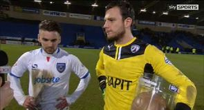 Pompey earn draw at Chesterfield