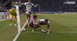 Huddersfield v Leeds - Try of the night