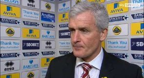 Hughes pleased with point
