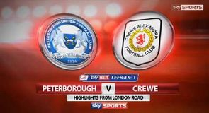 Peterborough 4-2 Crewe