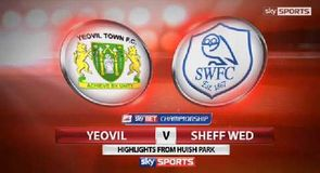 Yeovil 2-0 Sheffield Wednesday