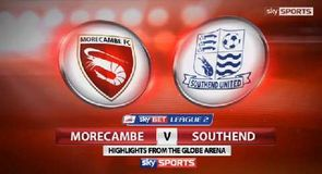 Morecambe 2-1 Southend