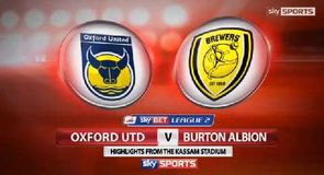 Oxford 1-2 Burton
