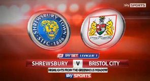 Shrewsbury 2-3 Bristol City