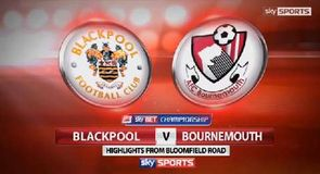 Blackpool 0-1 Bournemouth
