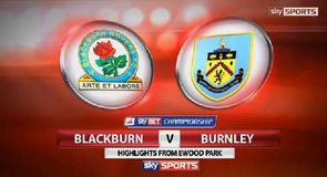Blackburn 1-2 Burnley