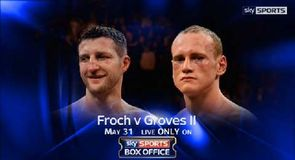 Froch v Groves - Press conference