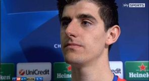 Courtois hails Costa influence