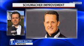 Schumacher showing improvement