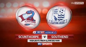 Scunthorpe 2-2 Southend