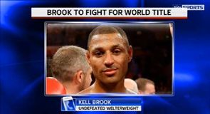 Brook guaranteed World Title shot