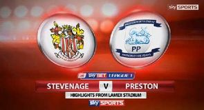 Stevenage 1-1 Preston
