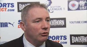 McCoist reflects on title win
