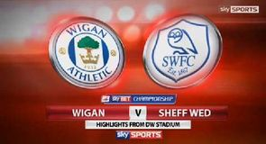 Wigan 1-0 Sheffield Wednesday
