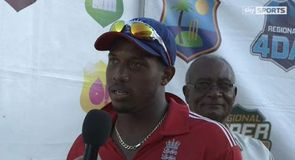 Jordan hits Windies for six