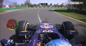 On board with Vettel