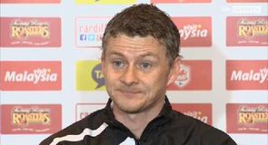 Pressure still on - Solskjaer