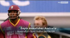 WCT20 2009 - Gayle goes big