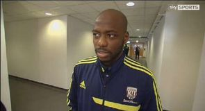 Swansea v West Brom - Mulumbu