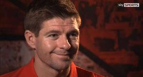 Steven Gerrard exclusive
