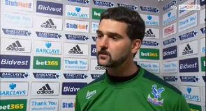 Speroni happy with point