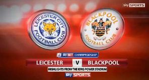 Leicester City 3-1 Blackpool