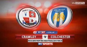 Crawley Town 1-0 Colchester United
