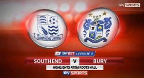 Southend United 0-0 Bury