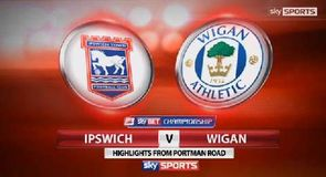 Ipswich Town 1-3 Wigan Athletic