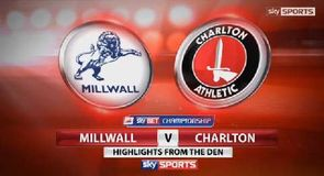 Millwall 0-0 Charlton Athletic