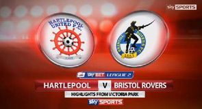 Hartlepool United 4-0 Bristol Rovers