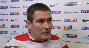 Clough happy with point