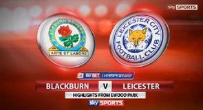 Blackburn 1-1 Leicester