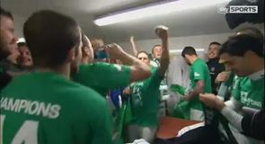 Champagne celebrations for Celtic