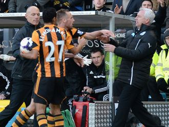 Pardew: In hot water