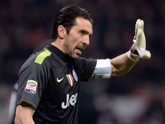 Buffon: Salutes his boss