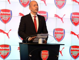 Gazidis: Disappointed with ticket allocation