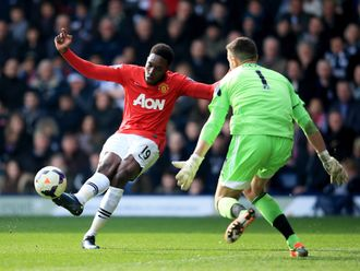 Welbeck: Gets in on the action