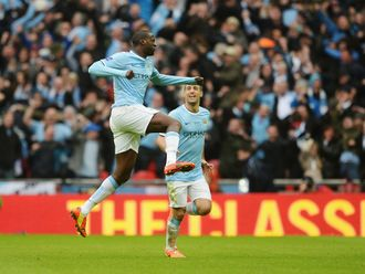 Toure: Sublime strike for City