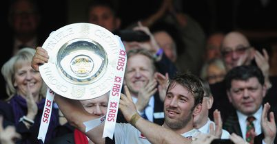 Triple Crown success delights Robshaw