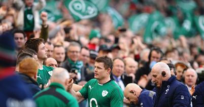 Perfect home farewell for O'Driscoll