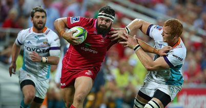 Five-try Reds outgun Cheetahs