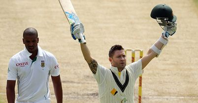 Michael Clarke century puts Australia firmly on top at Newlands