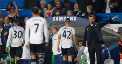 Sherwood Slams Gutless Spurs