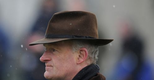 Mullins: has plenty of in-form horses at Cheltenham