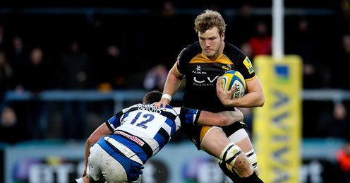 Joe Launchbury Wasps